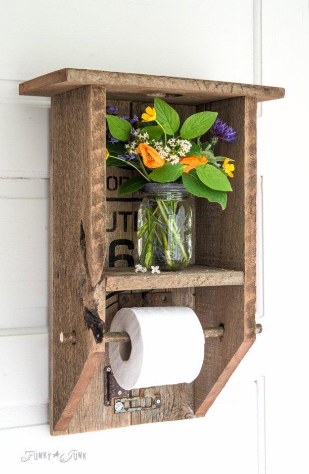 15 Pretty Awesome DIY Ideas For Your Bathroom's Decor