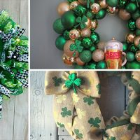 15 Stunning Handmade St. Patrick's Day Wreath Designs