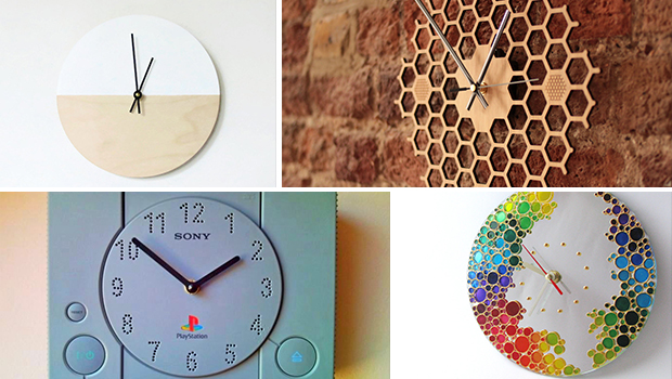 15 Unique Handmade Wall Clock Designs To Personalize Your ...