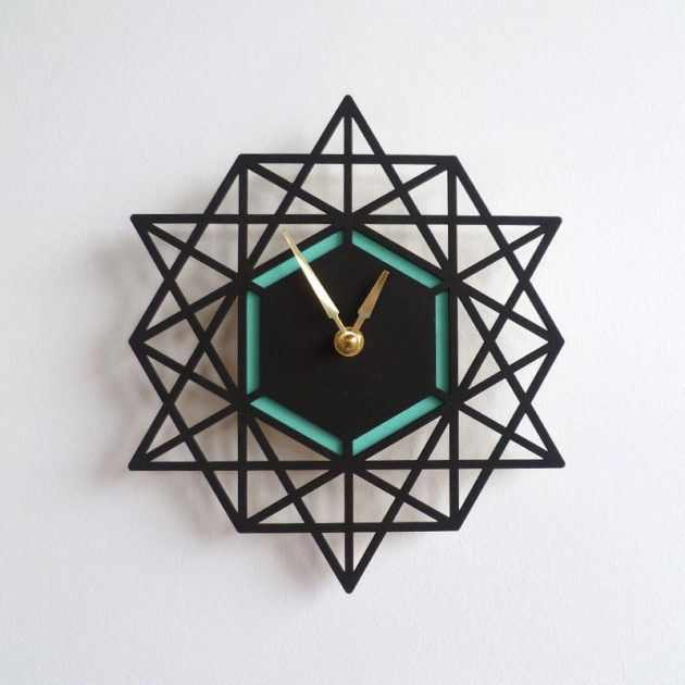 Home Design Ideas Handmade: 15 Unique Handmade Wall Clock Designs To Personalize Your