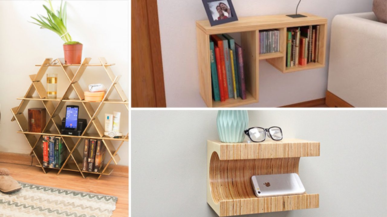 16 Convenient Handmade Bedside Table Designs Youll Find A Use For 0