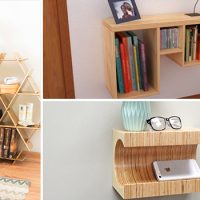 16 Convenient Handmade Bedside Table Designs You'll Find A Use For