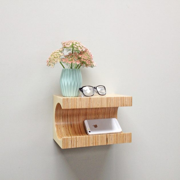 16 Convenient Handmade Bedside Table Designs Youll Find A Use For