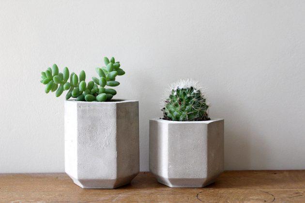 16 Elegant Handmade Indoor Planters To Freshen Up Your