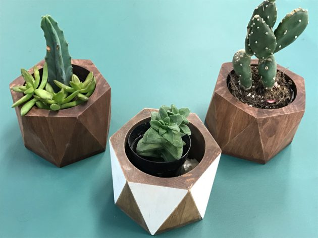 16 Elegant Handmade Indoor Planters To Freshen Up Your Home Decor