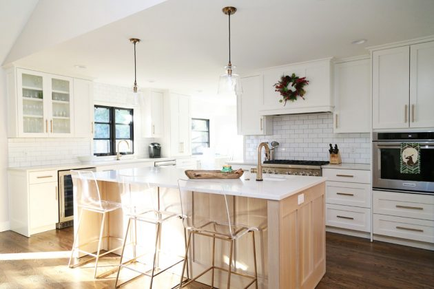 16 Extraordinary Transitional Kitchen Designs That Will Inspire You