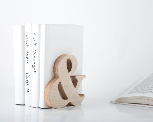 16 Incredible Handmade Bookends That Will Spice Up Your Bookshelves