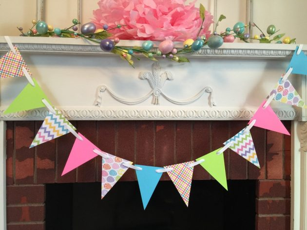 16 Lovely Handmade Easter Garland And Banner Designs You Can Easily Craft