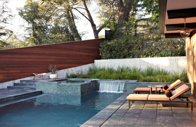 16 Stunning Mid Century Modern Swimming Pool Designs That