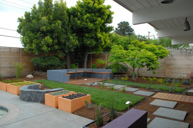 17 Scenic Mid Century Modern Landscape Designs You Need In Your Garden