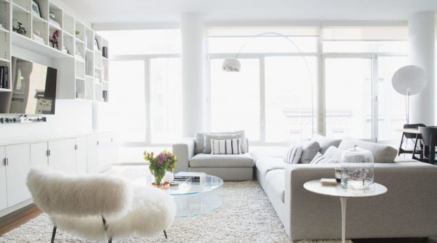 16 Magnificent Ideas For Decorating Pleasant & Classy White Interiors