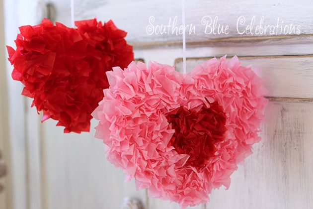 21 Last Minute Diy Valentine S Day Decorations That Are Super Easy Cheap