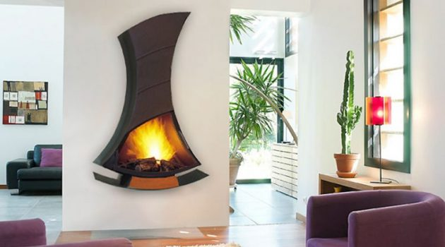 23 Truly Fascinating Fireplaces With Unique Design That Wows