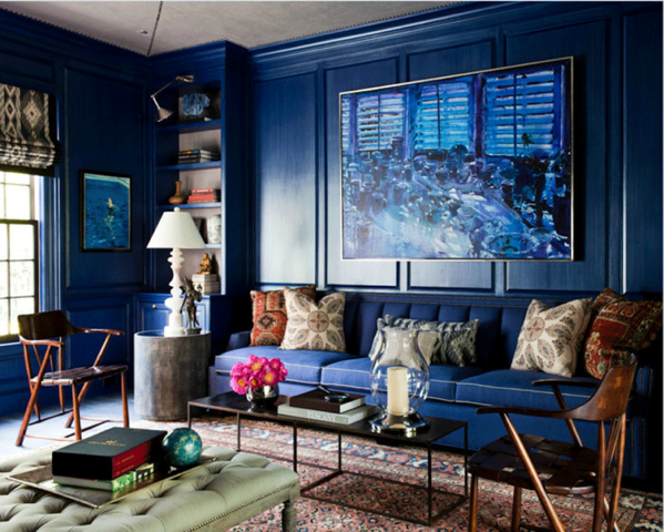 Decorating The Home With Indigo Color