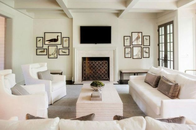 16 Divine Monochromatic Living Rooms That Surely Will Inspire You
