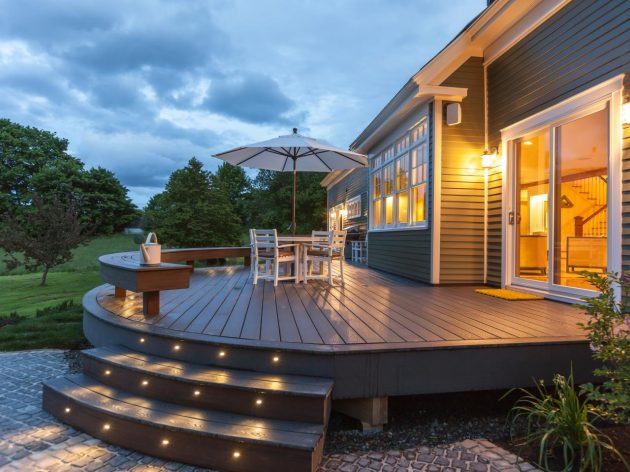 15 irreplaceable deck lighting ideas that will make your neighbours 15 irreplaceable deck lighting ideas that will make your neighbours jealous aloadofball Choice Image