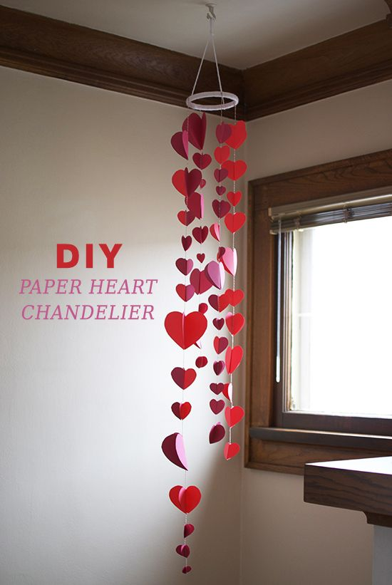 21 Last Minute DIY Valentines Day Decorations That Are Super Easy U0026 Cheap