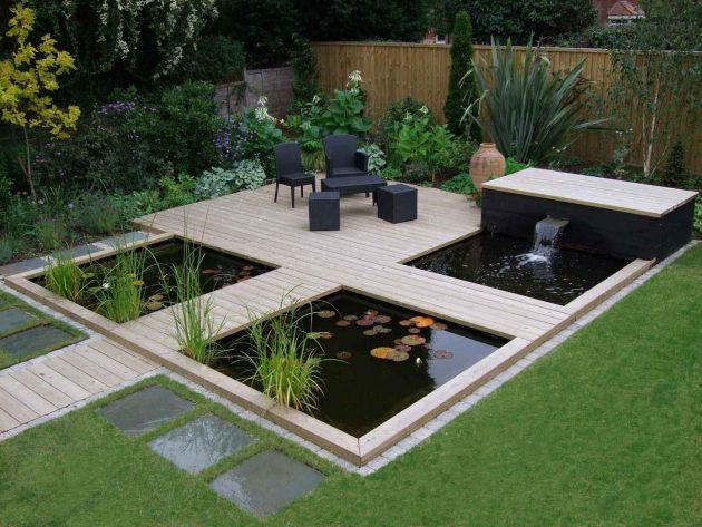 16 Attractive Garden Pond Designs That Everyone Should See