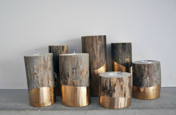 18 Fascinating DIY Wood Log Decorations That You Can Make For Free