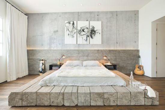 Concrete Bedroom Decoration 20 Bold Bedroom Designs With Concrete