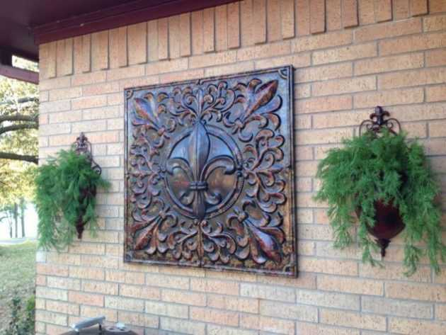 Interesting Options For Outdoor Wall Decor To Enhance The ... on Outdoor Garden Wall Art Ideas id=82634