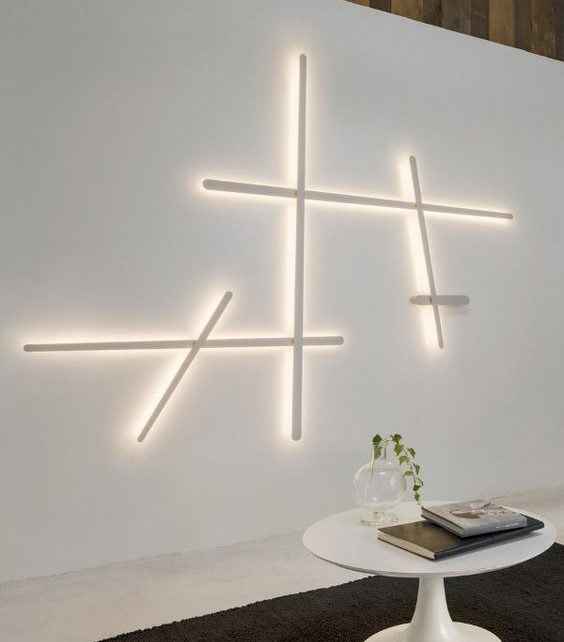 14 alluring wall led light designs to enhance your interior design aloadofball Gallery