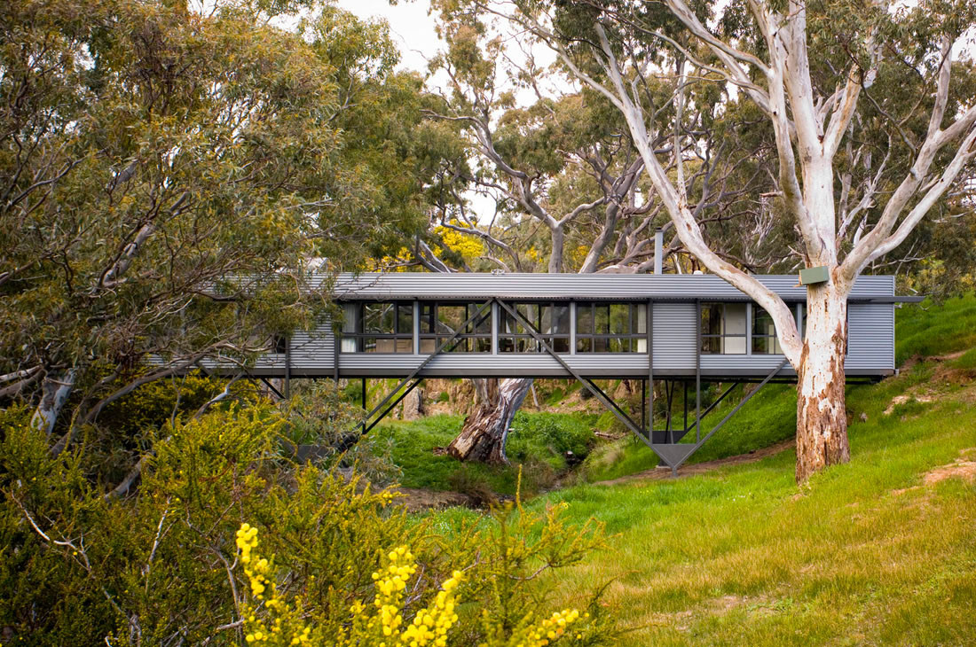 Bridge house by max pritchard architect in adelaide australia for Design homes adelaide