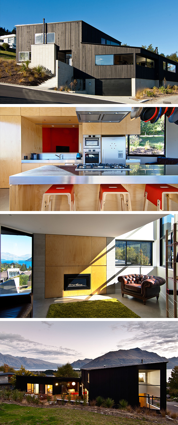 Dublin Street House by Kerr Ritchie in Queenstown, New Zealand