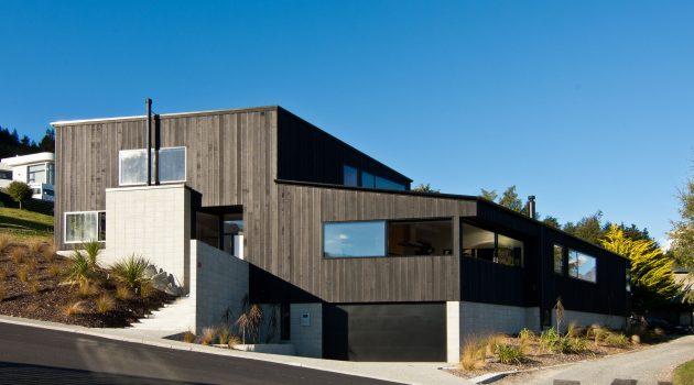 Dublin Street House by Kerr Ritchie in Queenstown, New Zealand
