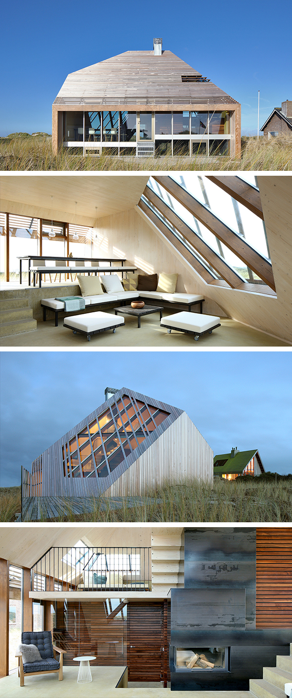 Dune House by Marc Koehler Architects in Terschelling, The Netherlands