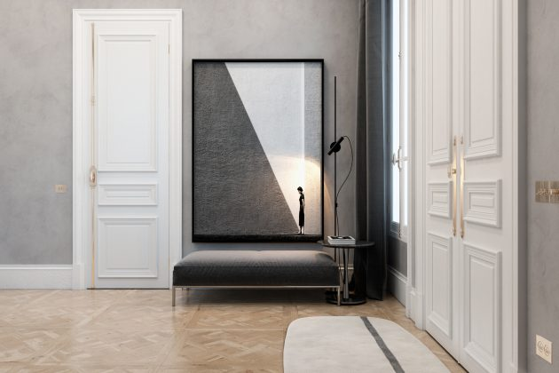 Exquisite Flat by Vitaliy Yurov, Iryna Dzhemesiuk in Paris, France