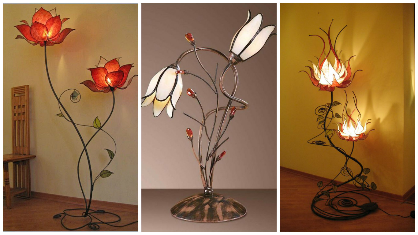 Top 17 Of The Most Extravagant Flower Lamp Designs You