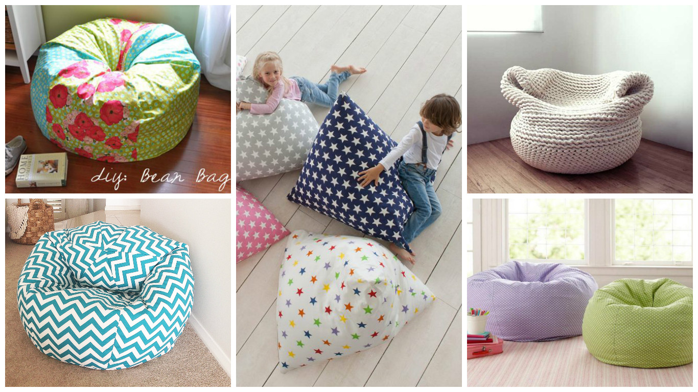 Pleasant 17 Fascinating Diy Bean Bag Designs To Surprise Your Children Inzonedesignstudio Interior Chair Design Inzonedesignstudiocom