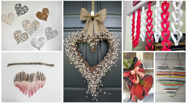 21 Last-Minute DIY Valentine's Day Decorations That Are Super Easy & Cheap