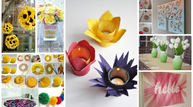 20 Ingenious DIY Ideas To Refresh Your Home This Spring