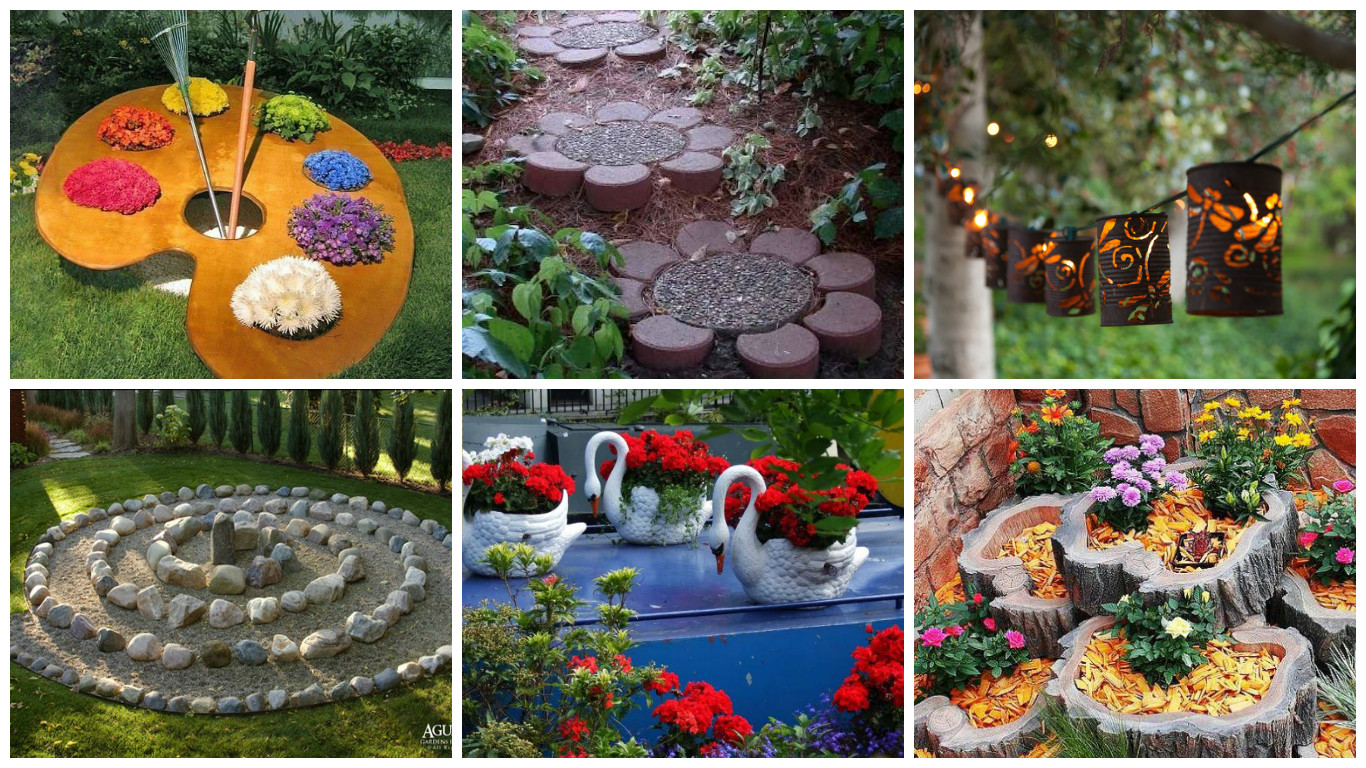 17 appealing diy garden decorations you need to make this for Garden decorations to make
