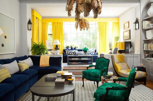 The Hot Colour Trends for 2017 Interiors