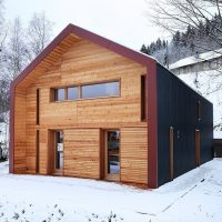 House in Vallée De Joux by Ralph Germann Architects in Le Chenit, Switzerland