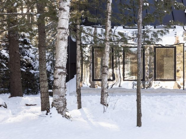 Lake Cottage by UUfie Architects in Ontario, Canada
