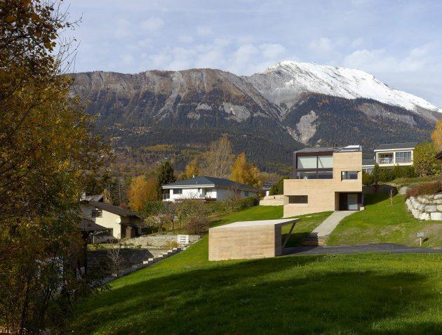 MFG House by ARCHI7 in Grimisuat, Switzerland