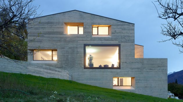 MFG House by ARCHI7 in Grimisuat, Switzerland