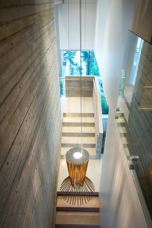 Sunset House by Mcleod Bovell Modern Houses in West Vancouver, Canada