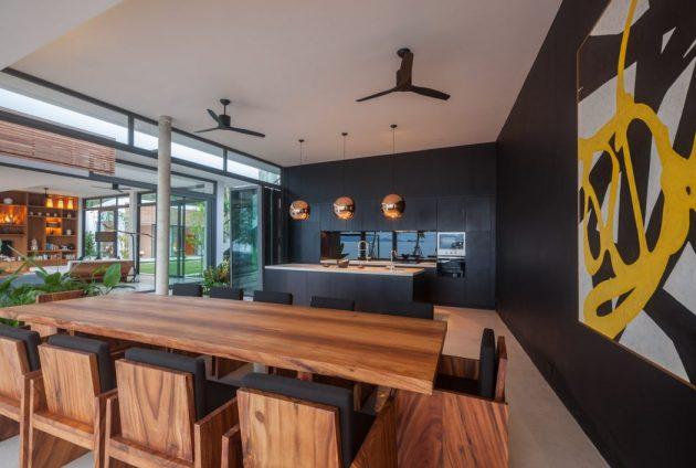 Villa Malouna by Sicart & Smith Architects on the Koh ...