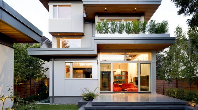 West 21st Avenue Residence by Frits de Vries Architect in Vancouver, Canada