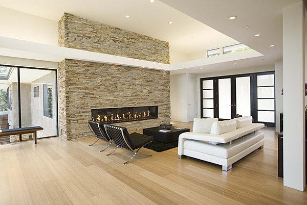 floor design ideas for your modern home - Modern Living Room Flooring