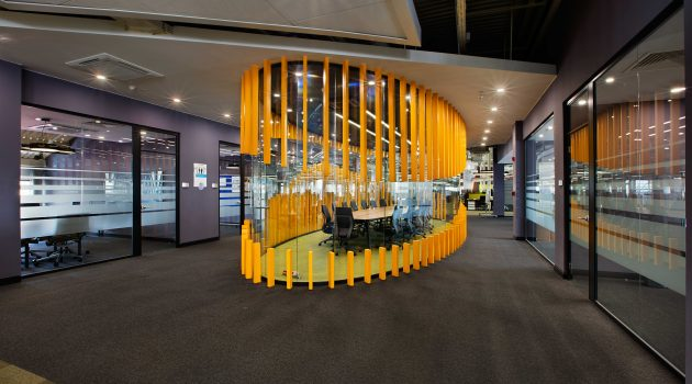 Flexibility, Mobility and Adaptability in the Office: Mercedes-Benz Turk IT Service Center