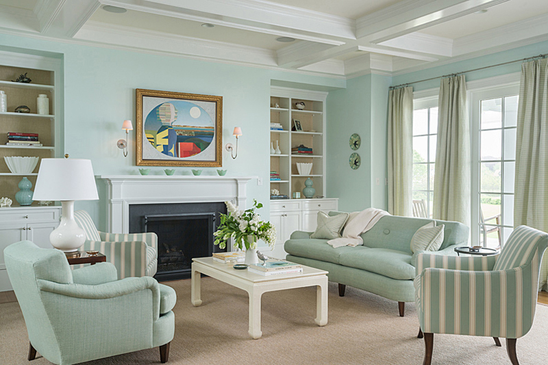 19 Marvelous Interior Designs With Mint Details That Are
