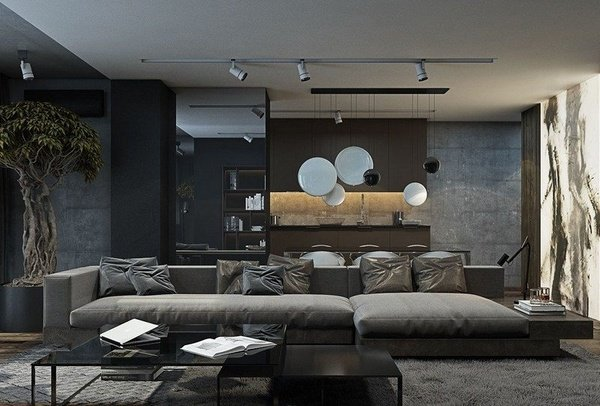 Delightful Outstanding Grey Living Room Designs That Everyone Should See