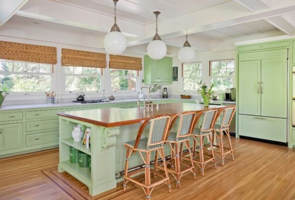 19 Marvelous Interior Designs With Mint Details That Are Worth Seeing