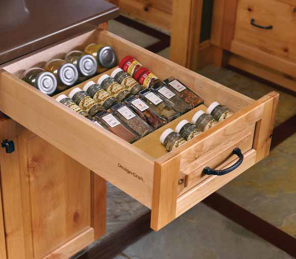 kitchen spice drawer organizer 17 functional ideas to organise the kitchen easily 6112